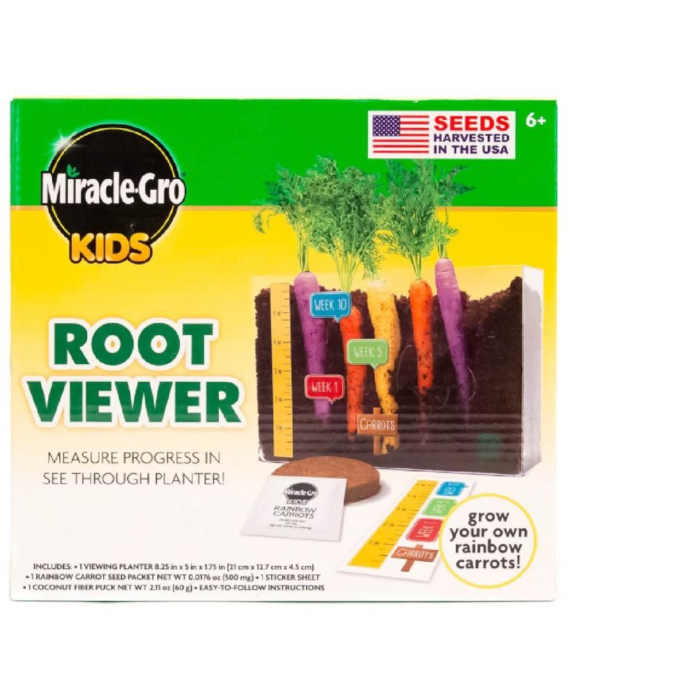 Miracle Gro Root Viewer Planter In 2019 Products Seed Planter