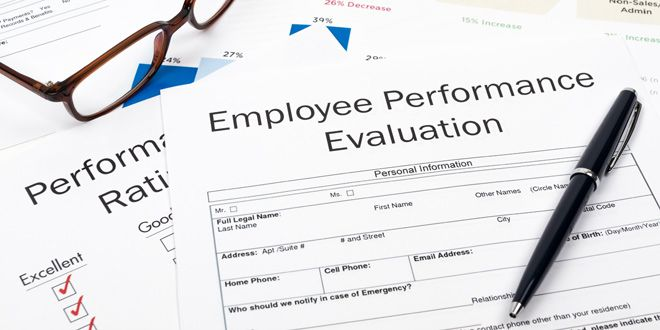 Employee Evaluation Form Training Resources Pinterest