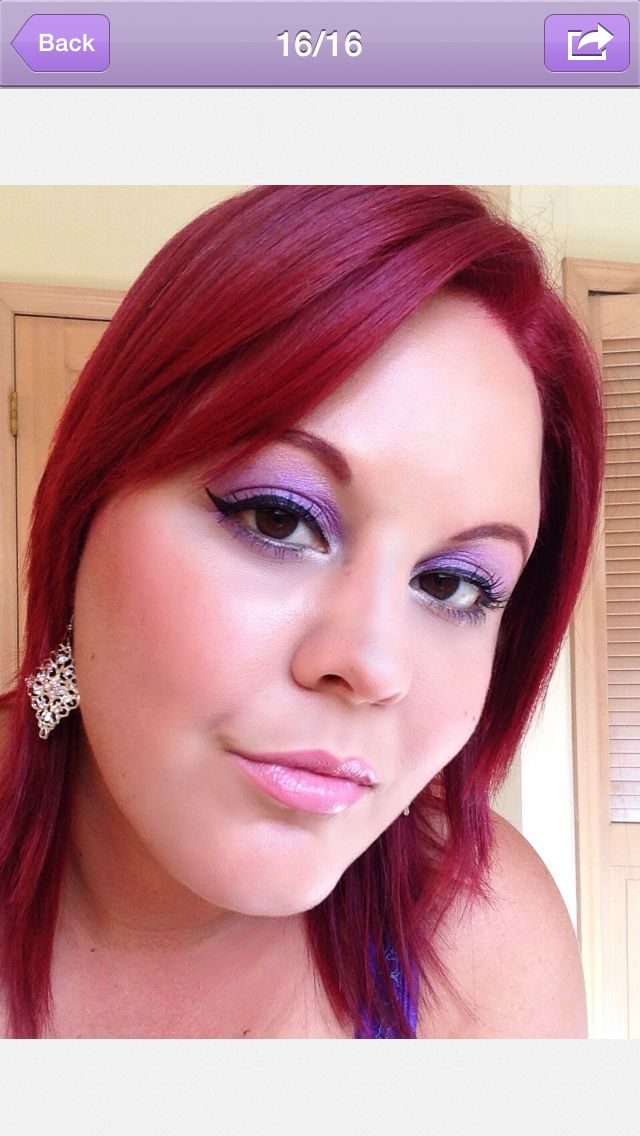 My Red Hair Color Magenta From Loreal Reds Red Hair Pinterest