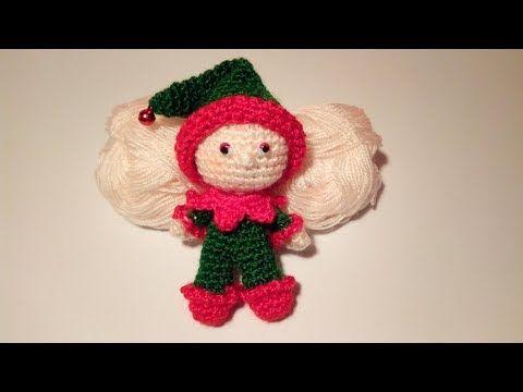 Tutorial De Amigurumis Navideños : Elfo amigurumi tutorial elf crochet elfo crochet youtube