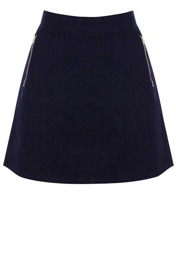 7cb19f11f7f7 Indigo denim is back this AW13 - try the Fleur Skirt from Oasis to get the  look. #autumncovered