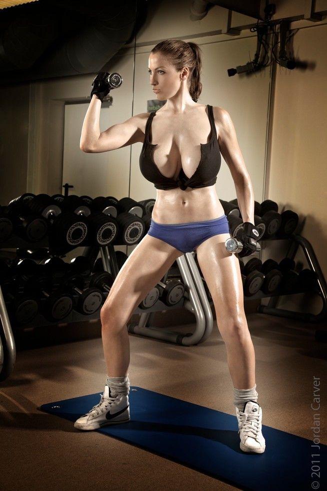 Workout big boobs — img 15