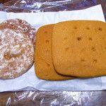 熊岡菓子店 - 小丸パン、角パン
