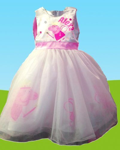7d6a03398 vestido para fiesta personalizado peppa pig presentacion