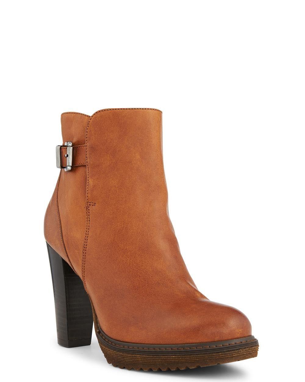 2d10df41fc Boots - Fierté - Toutes les chaussures - La Collection chaussures - Cuir -  Noir Maroquinerie