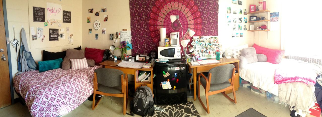 Katelyn And Sara S Dorm Room Ball State University In