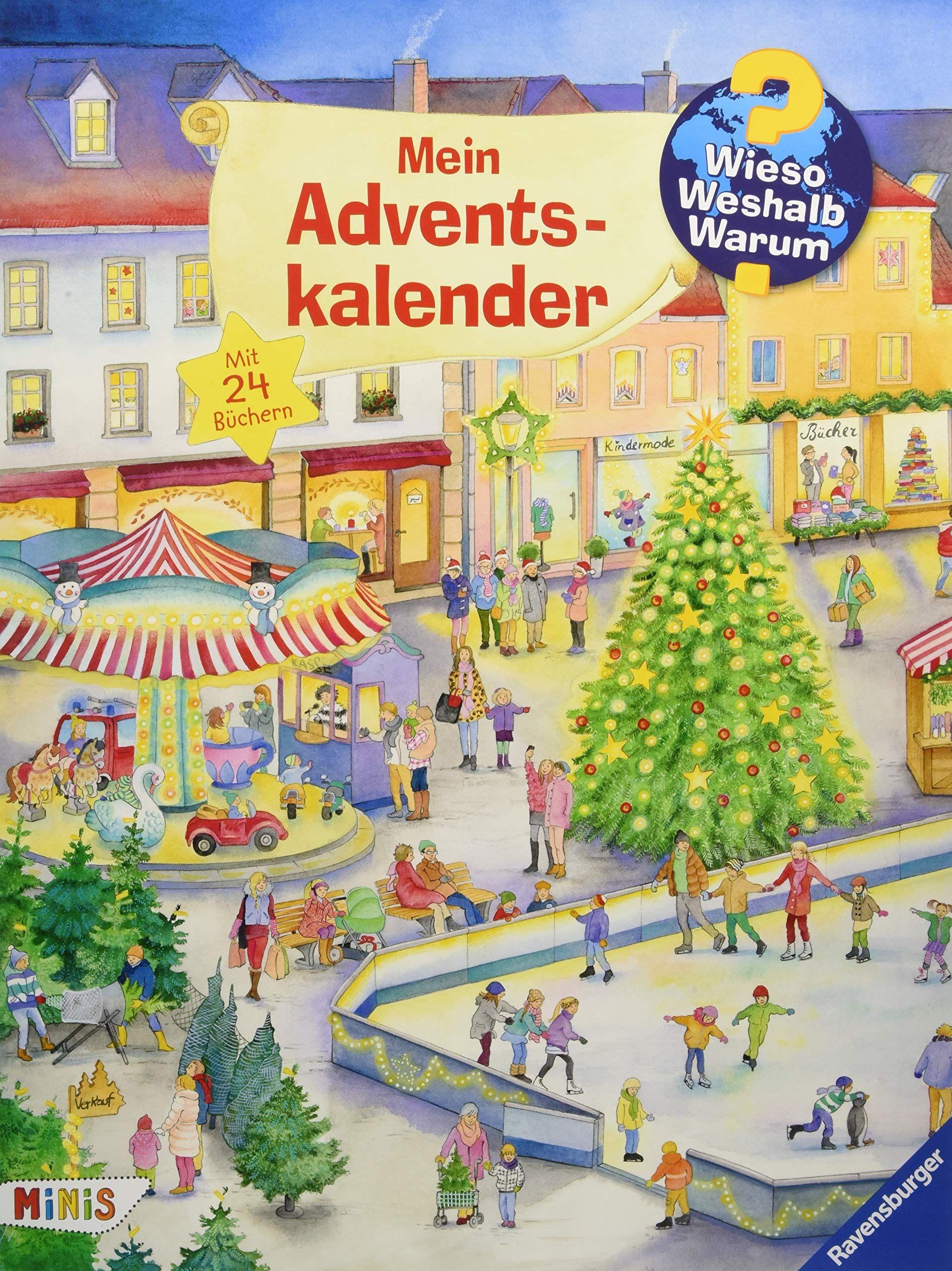 In diesem Adventskalender gibt es jeden Tag spannendes Sachwissen ...