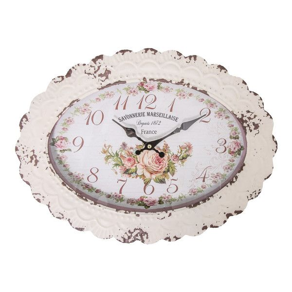 Oválne hodiny Antic Line Savonnerie Marseillaise | Bonami