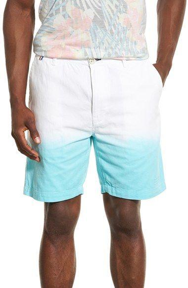 Sol Angeles 'Freemont Aqua Dip' Chino Shorts