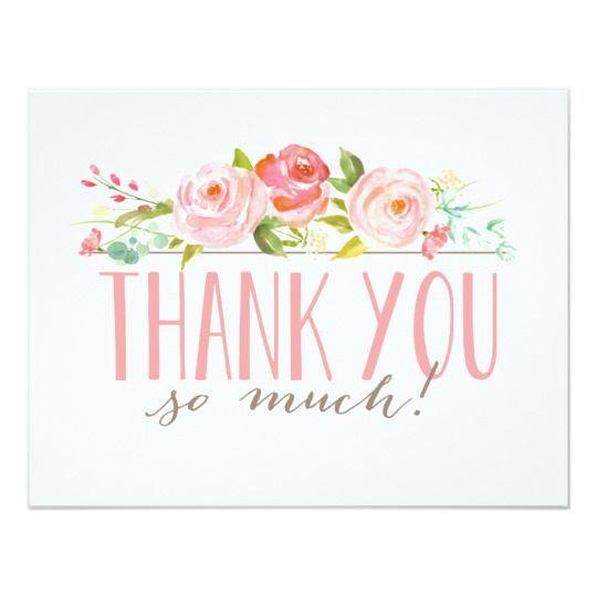 Rose Garden Thank You Card Joyful and Card ideas - thank you notes