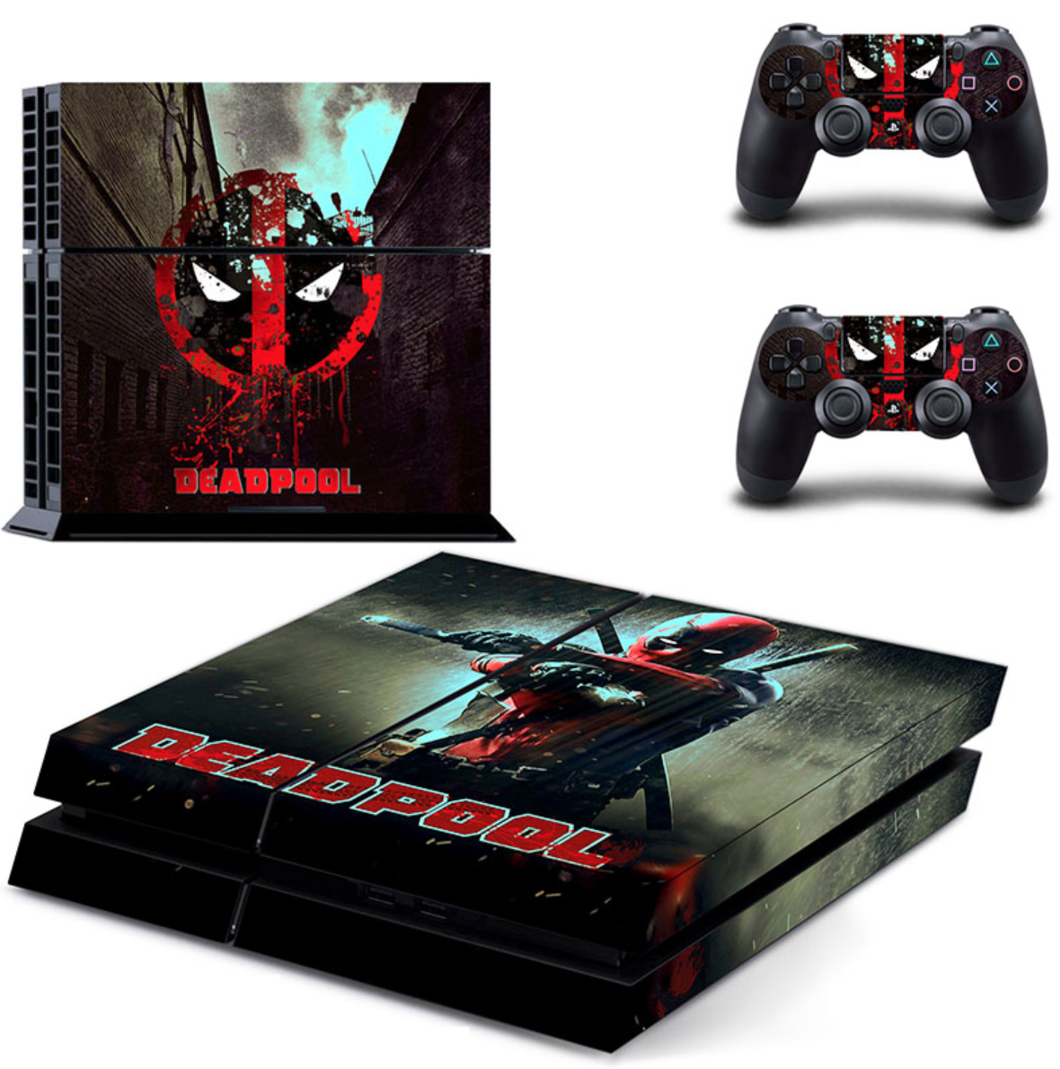 Deadpool Skin For Your Ps4 Controller Console Ps4 Skins Playstation 4 Console Ps4 Console
