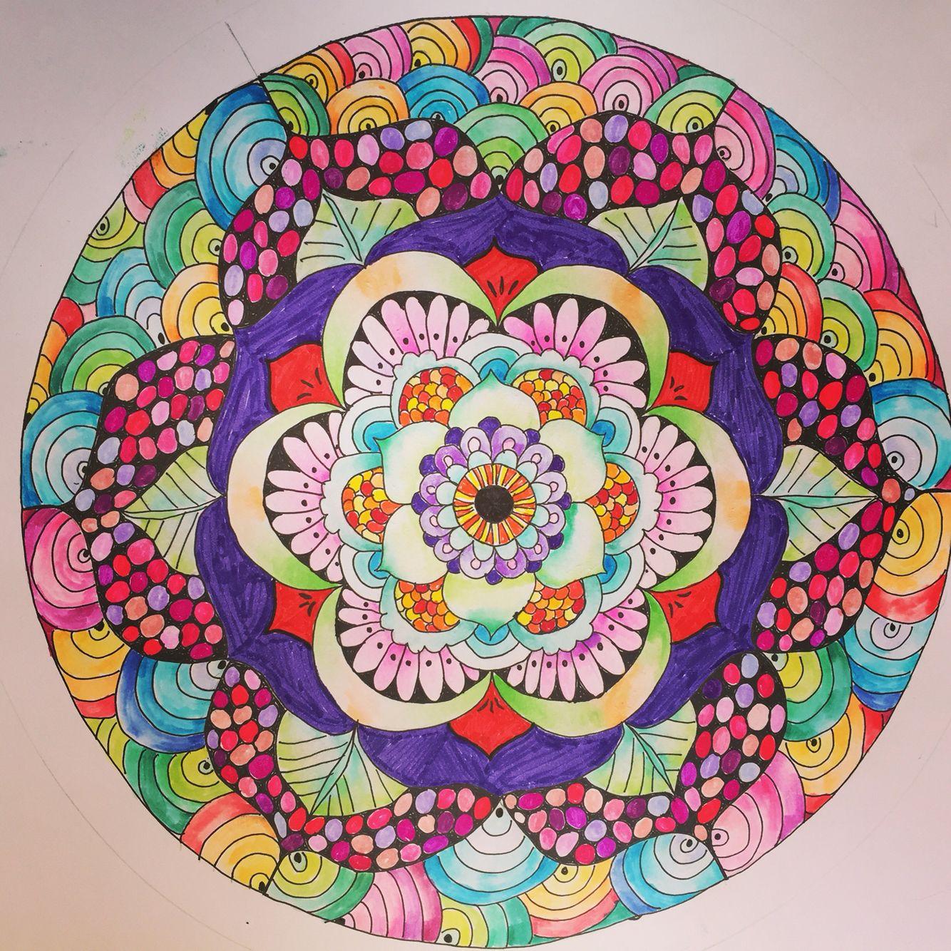 Mandala Observación y dibujo | Trabajos universidad | Pinterest ...