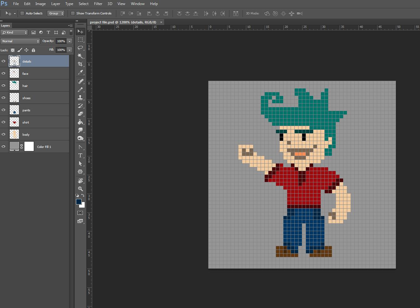 Create 8 bit pixel art with photoshop tutorial with images create 8 bit pixel art with photoshop tutorial with images baditri Image collections