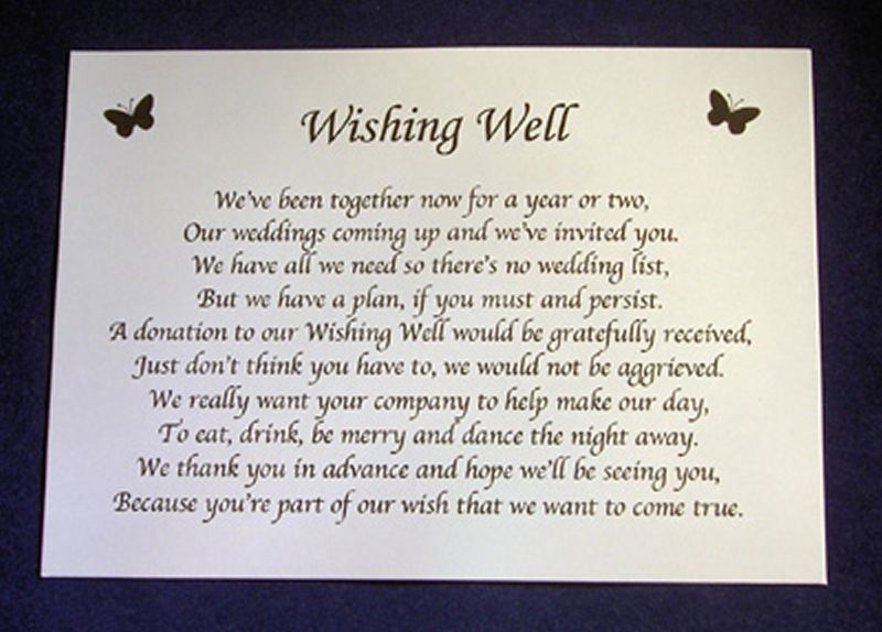 Wedding Invitation Wording Money Instead Of Gifts: Sample Wedding Invitation Monetary Request