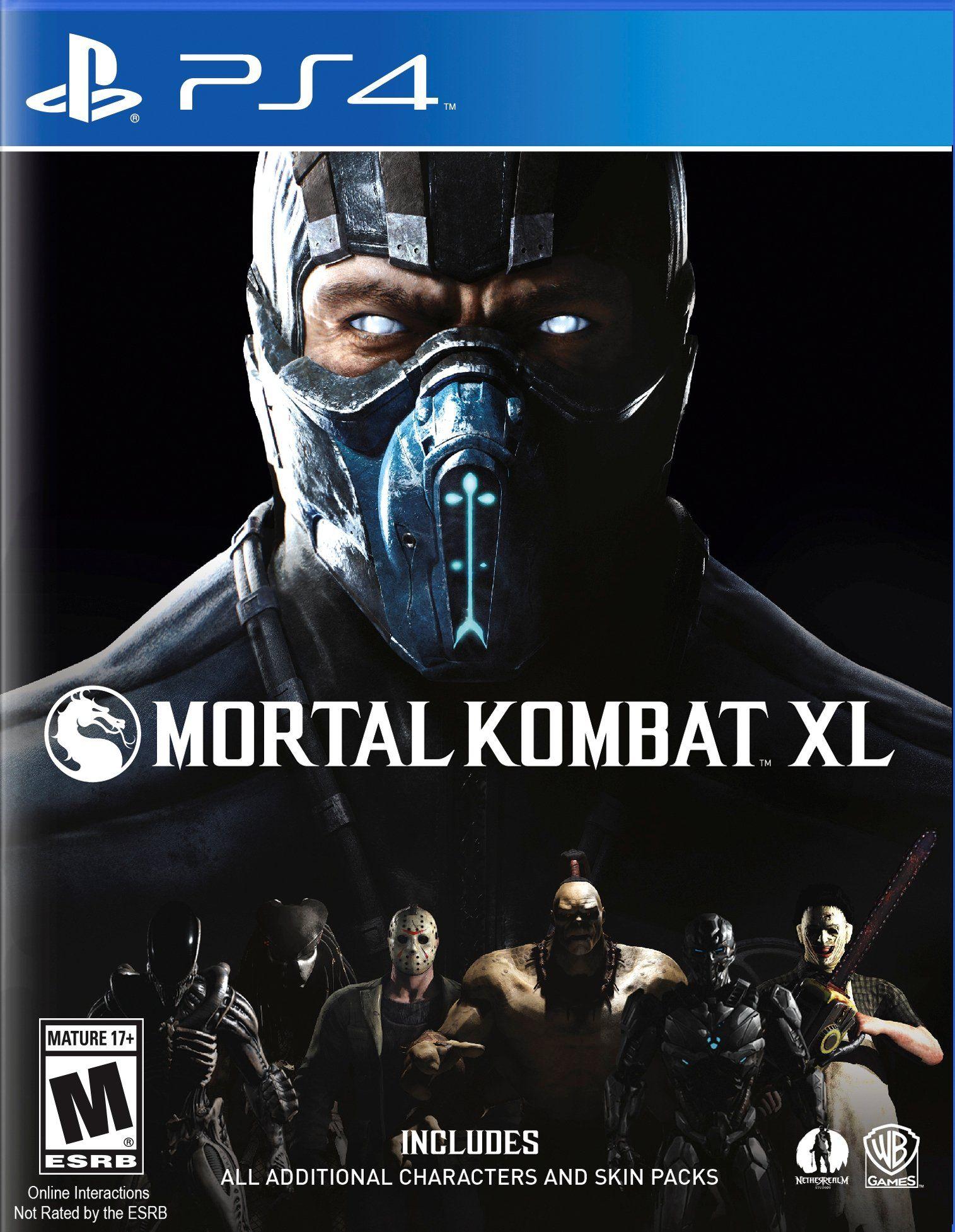 Mortal Kombat Xl Release Date Xbox One Ps4 Juegos De Ps3 Ps4 Juegos Mortal Kombat X