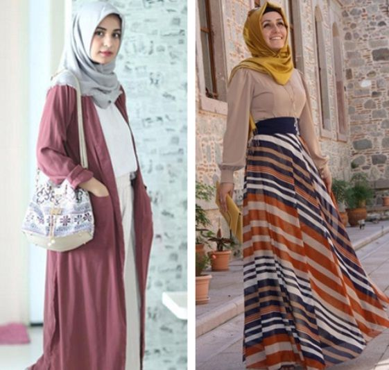 Baju Hijab Simpel Untuk Ke Pantai Hijab Pinterest