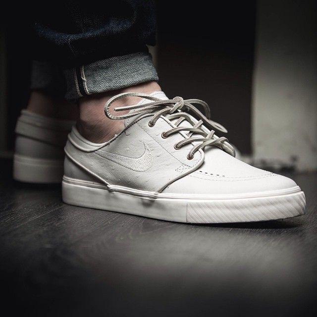Nike SB Zoom Stefan Janoski Premium (beige) - 43einhalb Sneaker Store Fulda