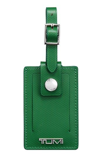 Tumi Leather Luggage Tag Available At Nordstrom