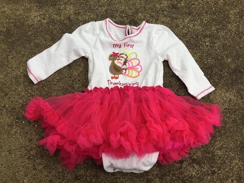 6d60e11abf6a Koala Kids My First Thanksgiving Dress Tutu 9 to 12 Months Turkey #fashion # clothing #shoes #accessories #babytoddlerclothing #girlsclothingnewborn5t  (ebay ...