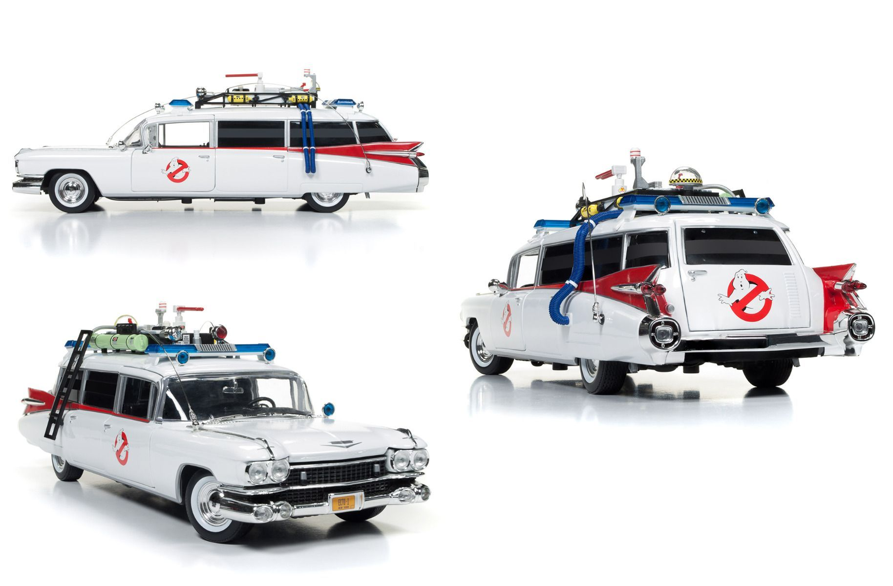 Ghostbusters toys car  Ghostbusters Ecto DieCast  Scale Vehicle  Movie Replicas