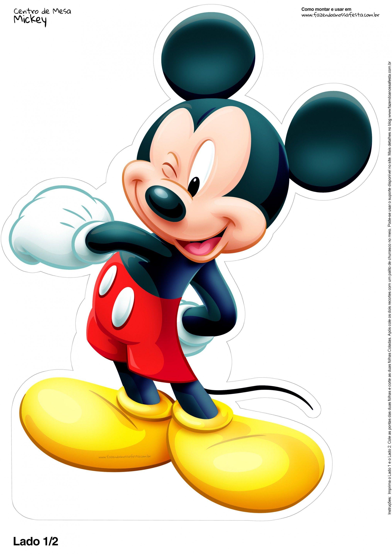 centro de mesa mickey 2 12 mickey mouse printables disney