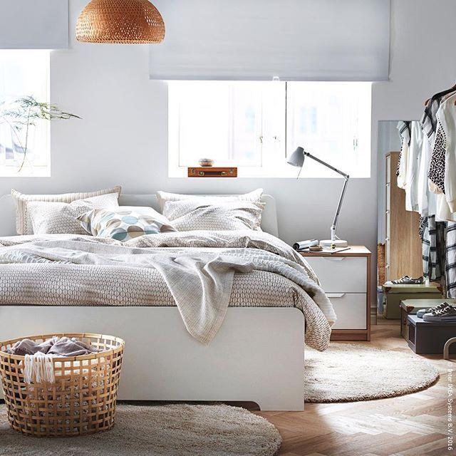 Wo Wir Dieses Jahr Urlaub Machen Im Bett Naturlich Askvoll Bettwasche Nattlju Schlafzimmer Inspirationen Ikea Schlafzimmer Ideen Schlafzimmer Einrichten