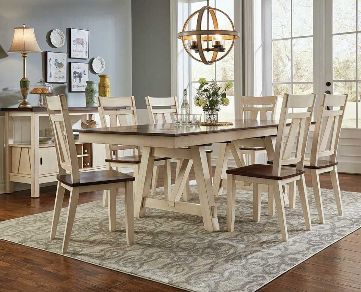 Picture of LAUREL MANOR 5 PC DINING SET Dining room