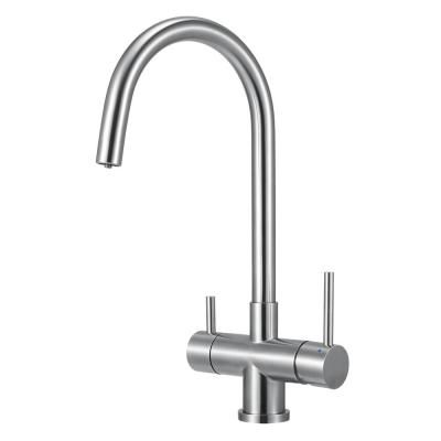 Alfi Brand Single Handle Standard Kitchen Faucet In Brushed