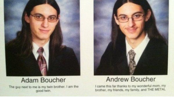 Funny Yearbook Quotes Twins