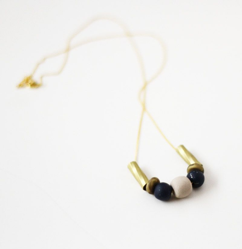 limited edition mixed bead necklace /AMM Jewelry
