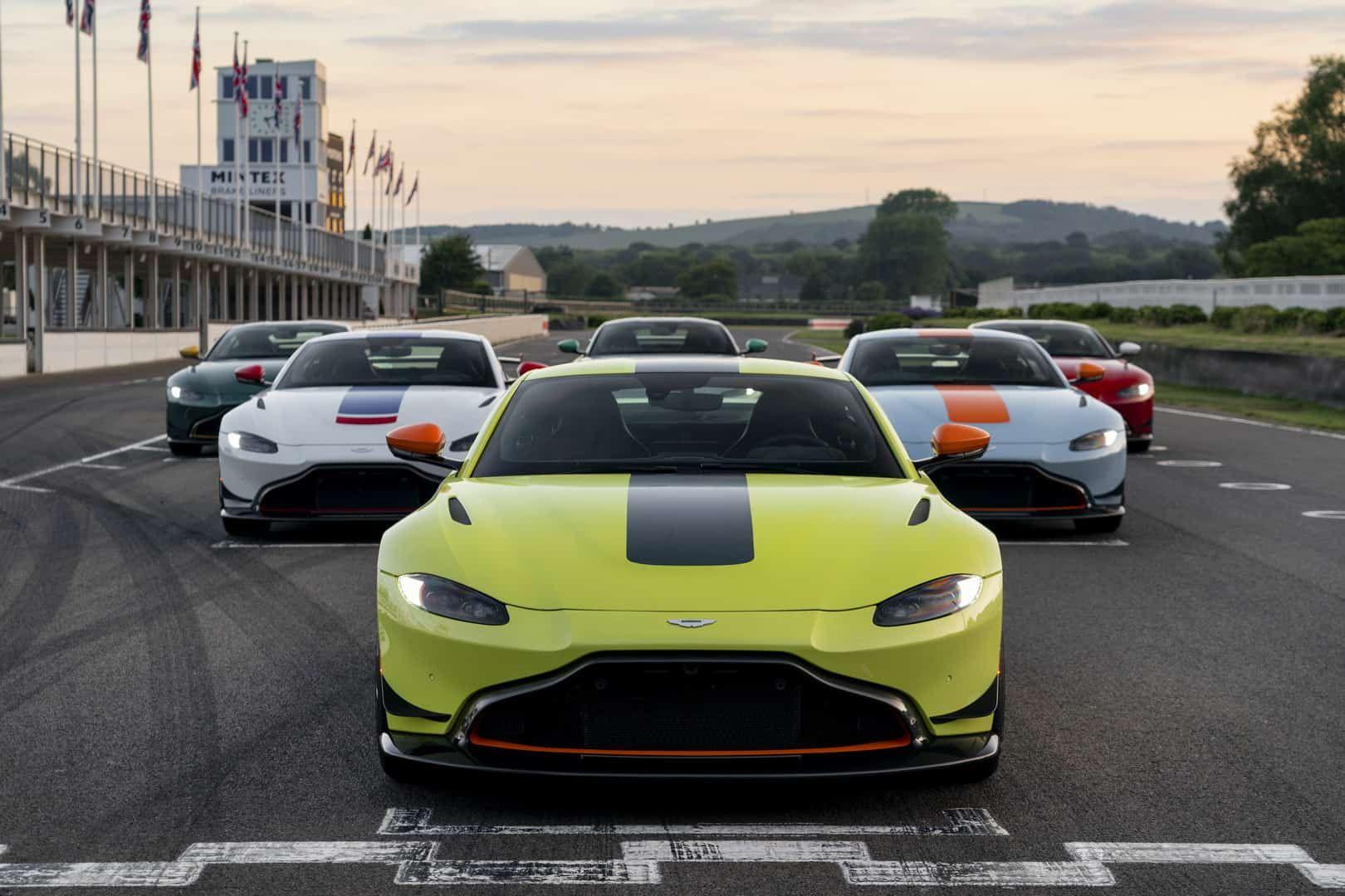 Aston Martin Unveiled The New Vantage Heritage Racing Editions Aston Martin Aston Martin Vantage Aston