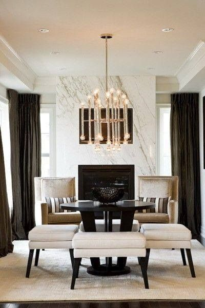 Dining room decor ideas for  white color scheme see more interior design also best rooms images kitchen lunch rh pinterest