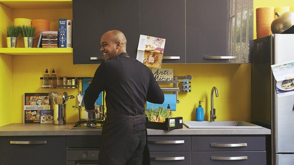 les couleurs tendance des cuisines alinéa | murs jaunes, alinéa et