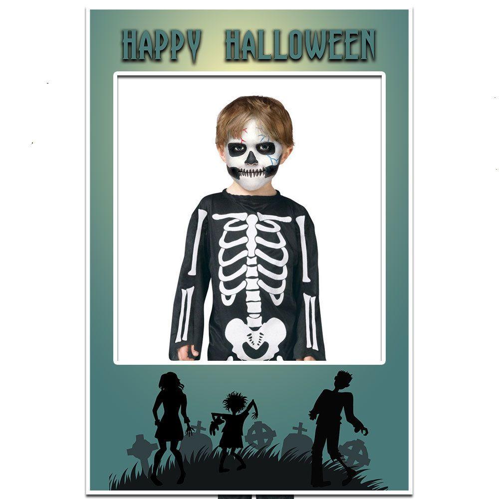 HalloweenSelfie Halloween Selfie Frame poster Family