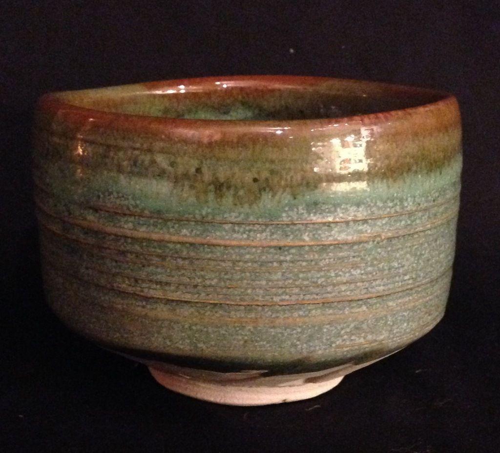 Japanese Seto 瀬戸 Ware Chawan Or Tea Bowl By Famous Potter Eichi Shozan 正山 Kato 2 Tea Bowls Chawan Japanese Pottery