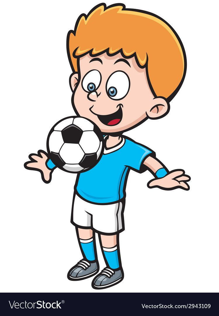 Soccer Player Vector Image On Jungs
