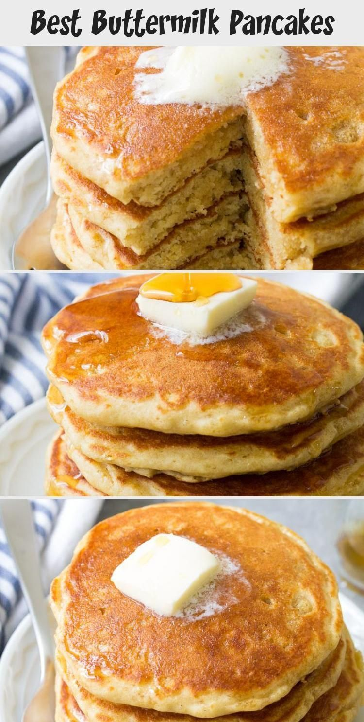 Best Buttermilk Pancakes Italian Food Recipes Light And Fluffy Buttermilk P Best In 2020 How To Cook Pancakes Buttermilk Pancakes Healthy Homemade Pancakes