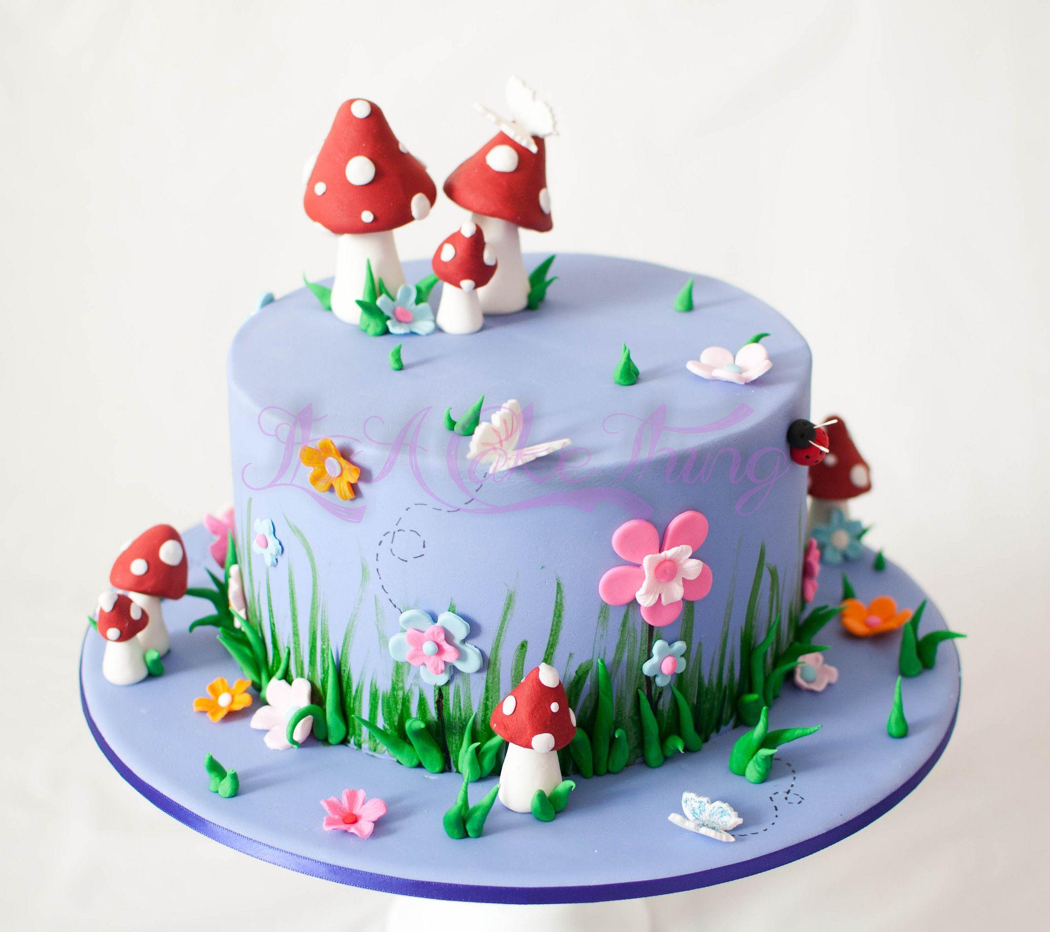 Fairy Themed Cake In 2019 Fairy Party Cake Fairy