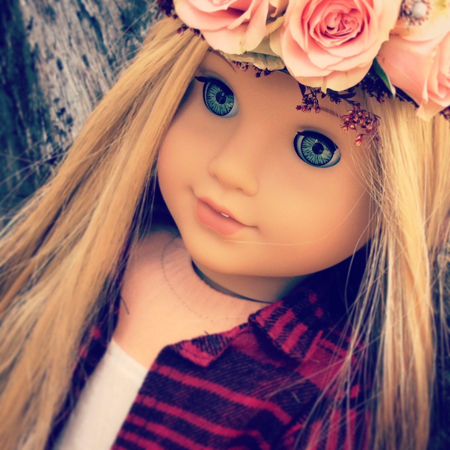 """RETIRED American Girl 18/"""" Doll Julie Summer Skirt Set Headband ONLY"""