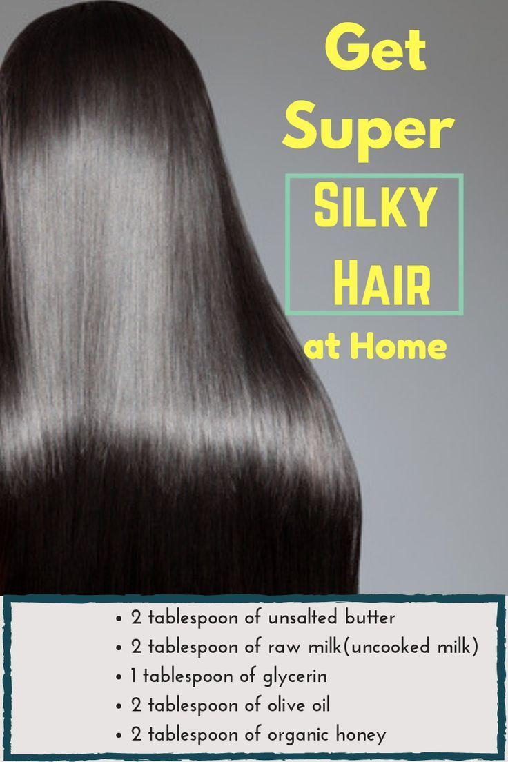 Get Super Silky And Glossy Hair In Just 1 Day 100 Guaranteed Result Haare Pflegen Glanzendes Haar Gesunde Haare