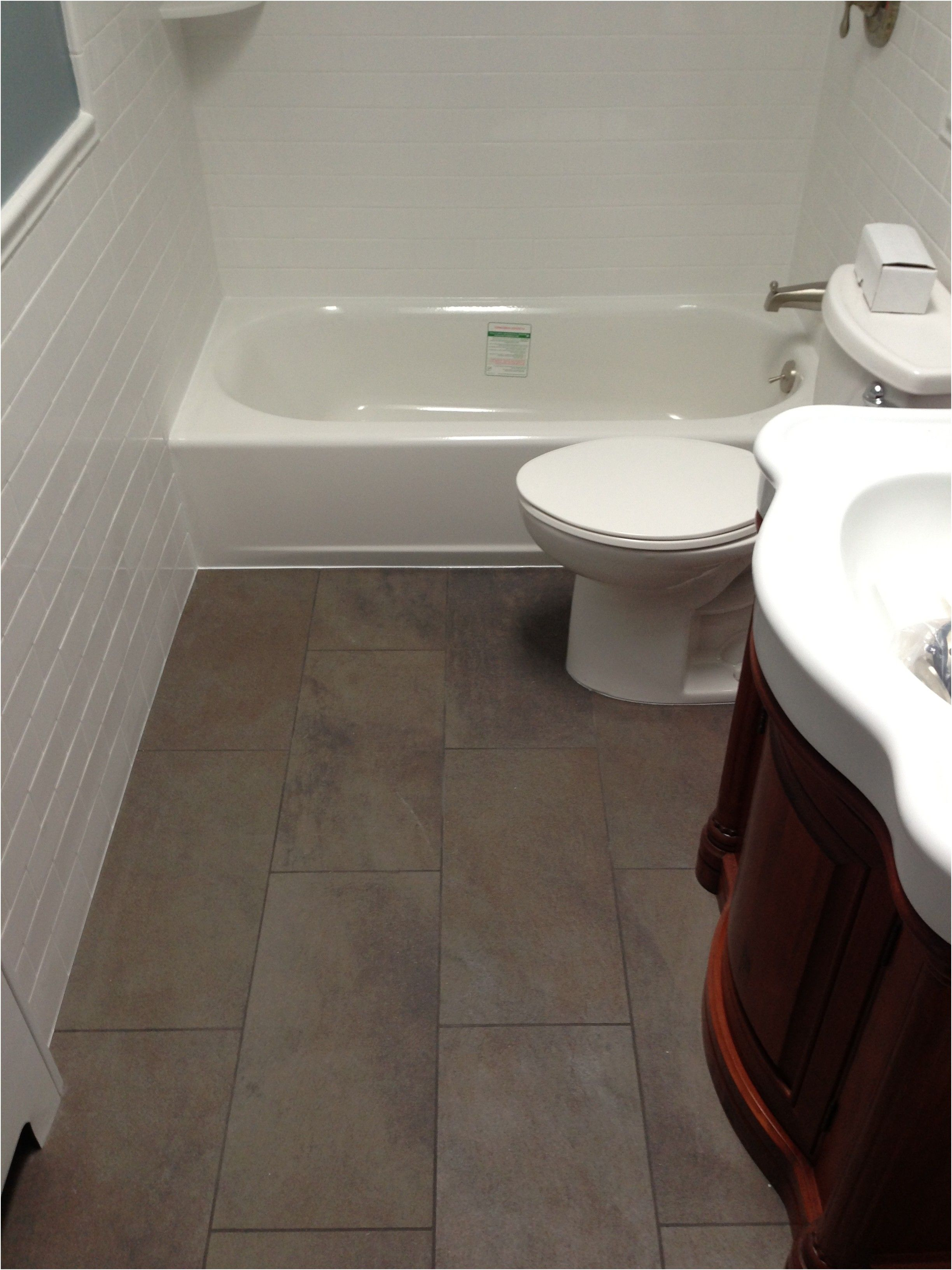 large tile small bathroom tiling contractor talk from 12X24 Tile In