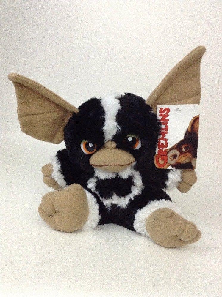 "NEW  10"" Gremlins Movie Black Mohawk Plush Stuffed Animal Toy Gift"