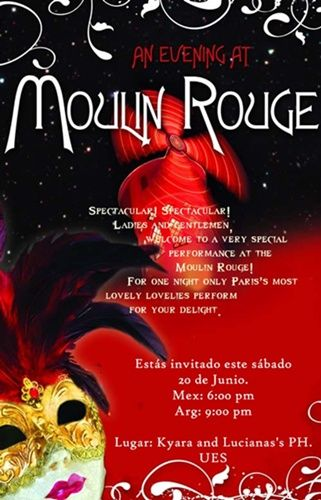Moulan Rouge Theme Parties Moulin Rouge Theme Party Paris Themed