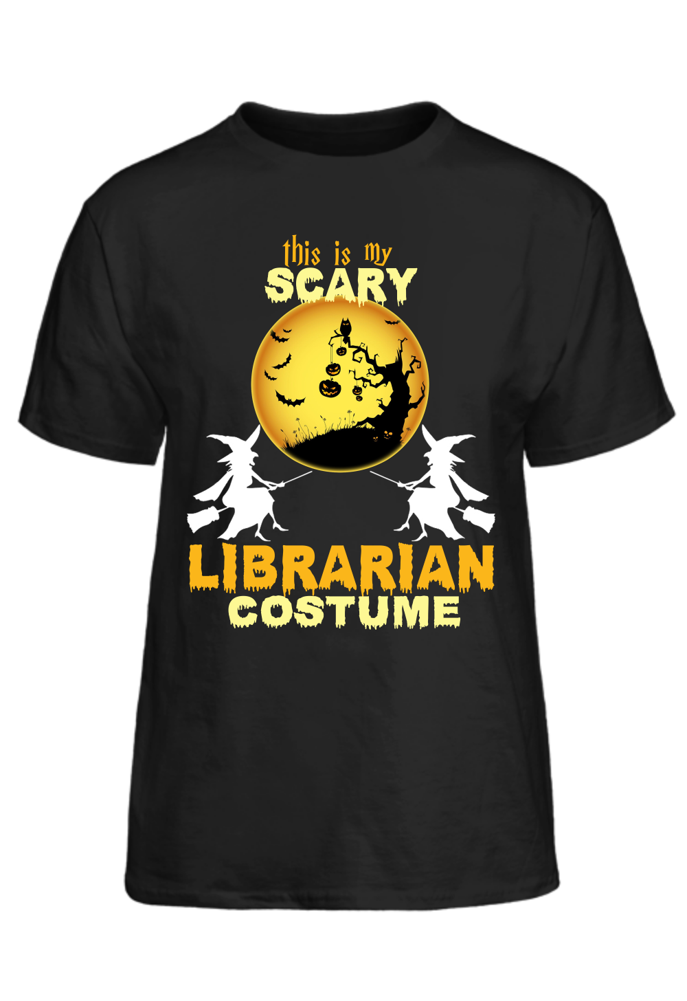 Halloween This Is My Scary Librarian Costume TShirt T