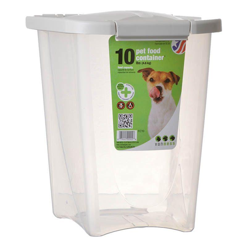 Van Ness Pet Food Container Pet Food Container Dog Food