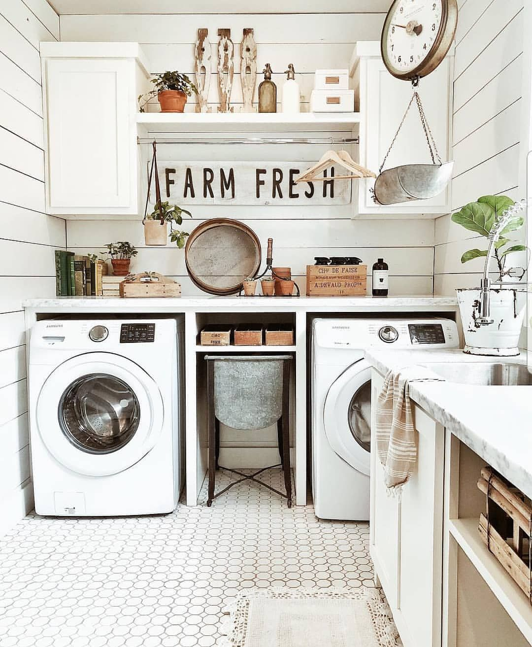 Pinterest // @taylorellen8 | Large laundry rooms, Laundry room ...