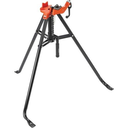Ridgid 36278 Model 460 12 Portable Tristand Chain Vise 1 8 Inch To 12 Inch Pipe Vise Red Products Ridgid Tools Vise Stand Tools