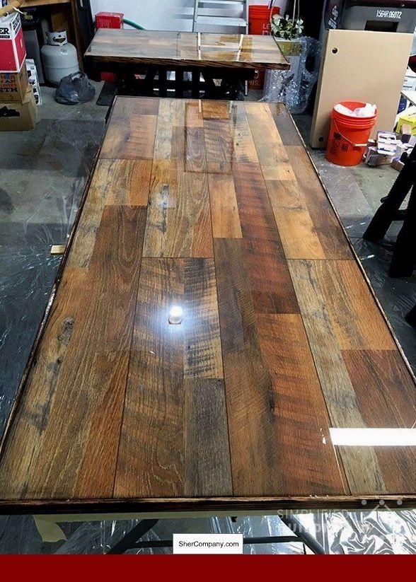 Low Cost Wood Flooring Ideas, Dark Laminate Floor Room