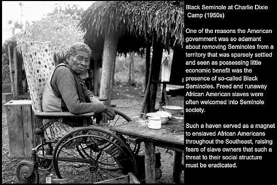 Black Seminoles An Older Black Seminole Indian Me Gullah