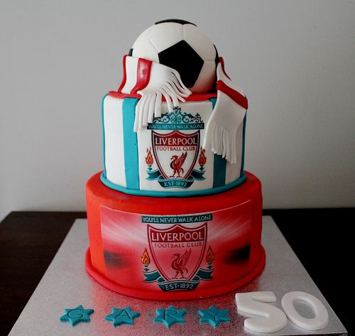 Soccer Wedding Ideas: Liverpool FC Groom's Cakes In 2019